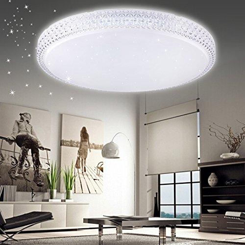 vingo® 50W Plafoniera LED cristallo soffitto freddo bianco cielo stellato luce delle stelle soffitto illuminazione salotto mordern soffitto lampada corridoio camera bella luce da bagno