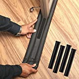 7 Season's twin door draft stopper keeps the cold air staying out and the heat staying in with both sided protection. Also great for blocking noise, Light, Bugs, Dust and fumes. Door draft stopper easily move with the door and glides over carpet, woo...