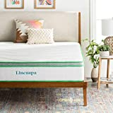 LINENSPA 10 Inch Latex Hybrid Mattress - Supportive - Responsive Feel - Medium Firm - Temperature Neutral - Full