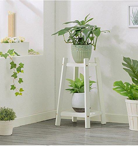Fleur de bois créatif simple de style moderne étagères étagère de fleurs à plusieurs étages intérieure (Couleur : A, taille : 30 * 60cm)