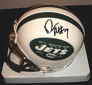 Darrelle Revis Signed Jets Mini Helmet