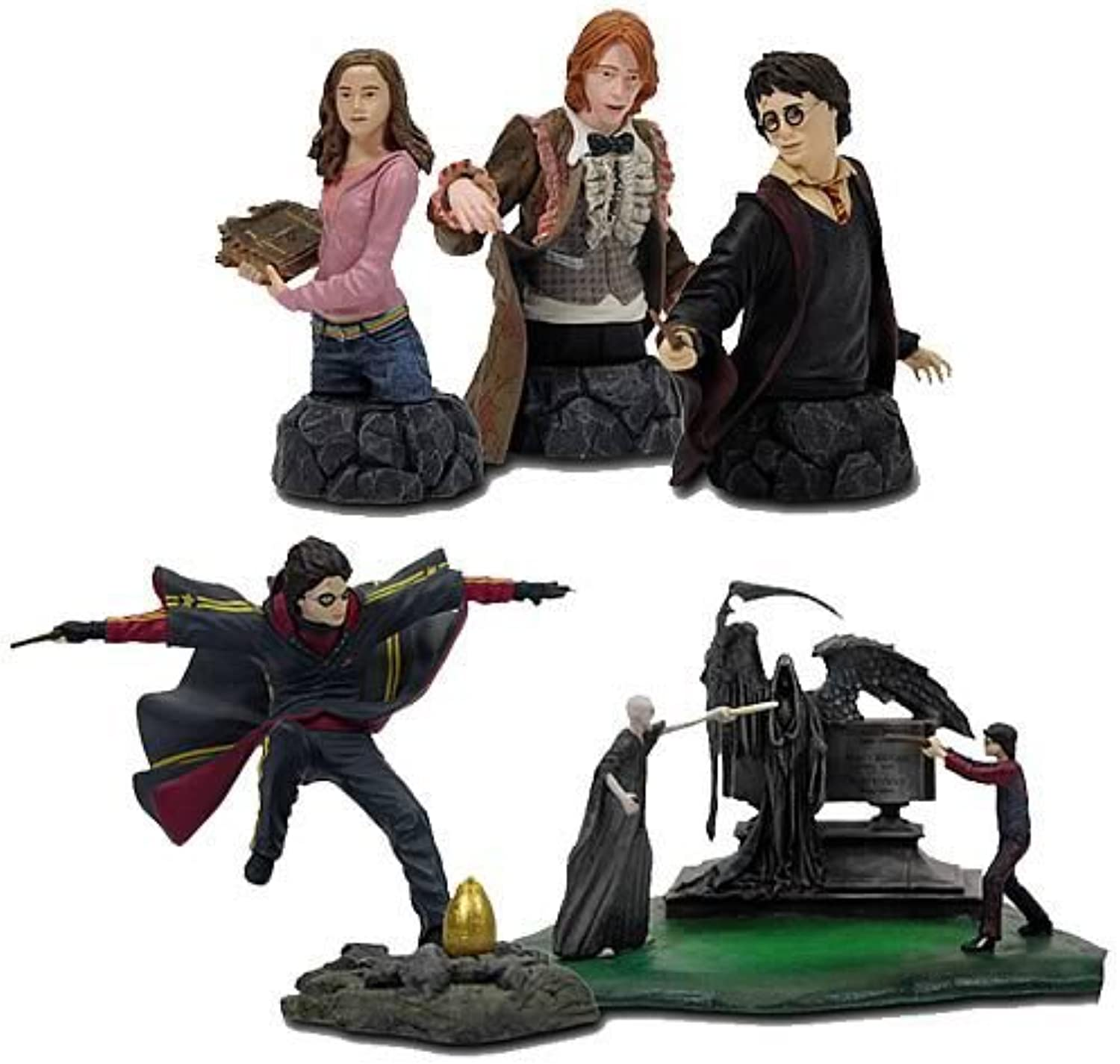 Harry Potter Timeless Collection Serie 1  Classic Moments 57cm BustUps 5er Set
