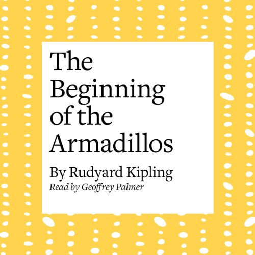 The Beginning of the Armadillos copertina