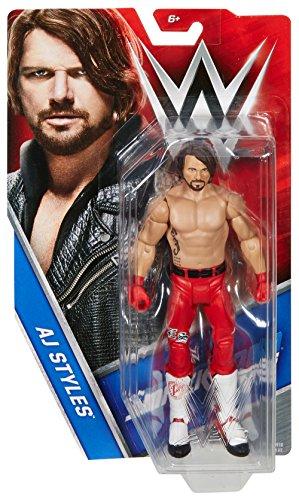 "WWE Superstars AJ Styles Action Figure, 6"""