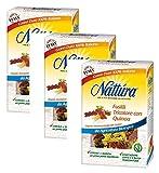Nattura Fusilli Tricolore con quinua de agricultura ecológica Vegan OK 100% trigo duro italiano - 3 x 350 gramos
