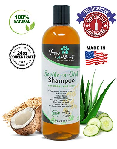 Paws-A-Bunch Soothe-N-Itch Dog Shampoo