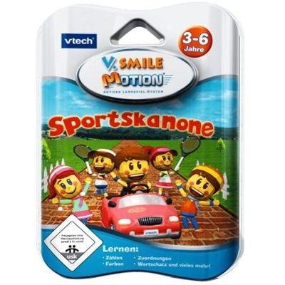 VTech V. Smile Motion 80-084004 Sportskanone - Videojuego de deportes (de 3 a 6 años) [importado de Alemania]