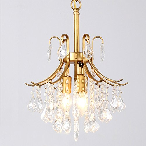 Vast kroonluchter, decoratief, donker, kristal, zwart, om op te hangen, LED, 3 koppen, energiebesparing, kroonluchter 312