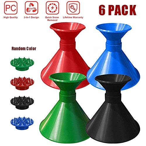 Purchase Windshield Ice Scraper Cone,Magical Car Ice Scraper, Ice Scrapers for Car Windshield Round,...