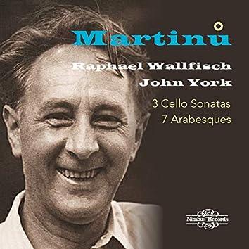 Martinů: 3 Cello Sonatas & 7 Arabesques