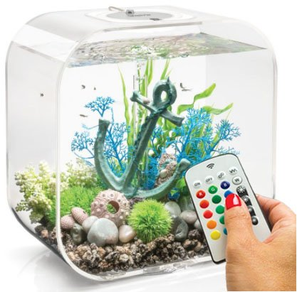 biOrb Life 30 Liter Transparent Aquarium with MCR Lighting