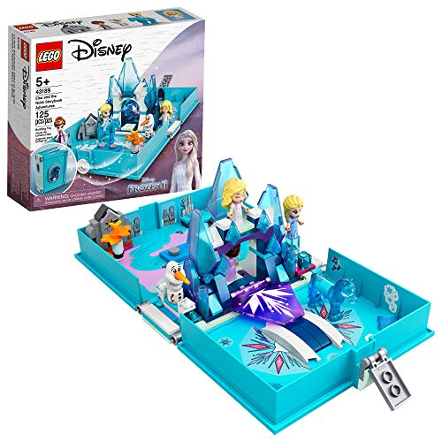 LEGO Disney Elsa and The Nokk Storybook Adventures 43189; A Popular Building Toy or Fun Kit, New 2021 (125 Pieces)