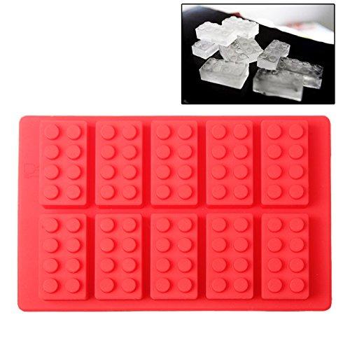 Molde de silicona como bloques de construcción, para hornear bloques de construcción,...