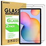 [2 Stück] GOZOPO Bildschirmschutzfolie für Samsung Galaxy Tab S6 Lite 10,4 Zoll SM-P610/P615 [2.5D Kante zu Kante] Samsung Tab S6 Lite 10.4 Hartglasfolie [kratzfest]