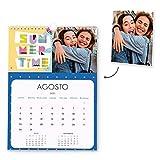 Fotoprix Calendario 2021 pared Personalizado con tus fotos | Varios Diseños y Tamaños Disponibles...