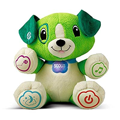LeapFrog My Pal Scout, Plush Pre School Learning Toy with Personalisation, Songs, Learning Puppy with Phrases and Lullabies, Suitable for 6 Months and 1, 2, 3 Year Old Boys and Girls from LeapFrog
