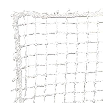 Dynamax Sports High Impact Golf Barrier Net, White, 10X10-ft