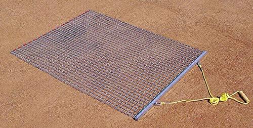 Trigon Sports Steel Drag Mat, 6 x 6-Feet