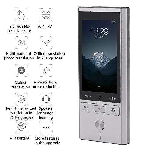 51Xplt6kc+L - simvalley MOBILE Sprachen Übersetzer: Mobiler Echtzeit-Sprachübersetzer, 106 Sprachen, Touchscreen, Kamera (Übersetzungsgeräte)