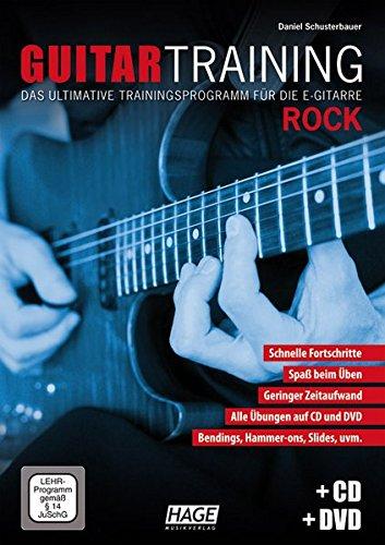 Guitar Training Rock (Mit CD Und DVD). Für E-Gitarre, Gitarrentabulatur(Elektrik): Das ultimative Trainingsprogramm für die E-Gitarre