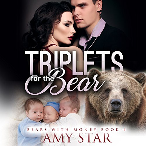 Triplets for the Bear: A Paranormal Pregnancy Romance audiobook cover art