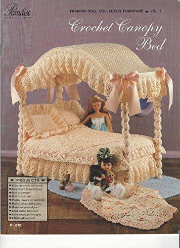 Crochet Canopy Bed Paradise Publications 1993