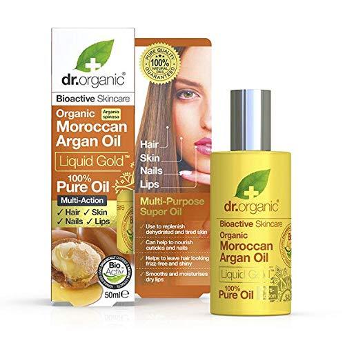 Dr Organic Liquid Gold Huile d'argan marocain 100% pure 50 ml
