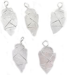 wire wrapped arrowhead jewelry