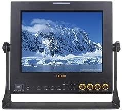 "Lilliput 969A/S 9.7"" LED Field Monitor, 1024x768, Dual HDMI Input, YPbPr, 3G-SDI Input, BlackMagic BMCC Compatible"