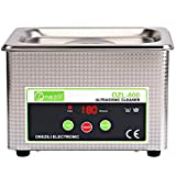 ONEZILI 800mL Ultrasonic Cleaner Machine Ultra Sonic Bath Professional Jewelry Cleaner with Stainless