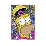 LTGB The Simpsons Anime-Poster, Leinwand-Kunstdruck,