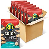 RITZ Crisp and Thins Salt and Vinegar Chips, 6 - 7.1 oz Bags...