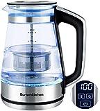 Electric Glass Kettle, Bonsenkitchen 1.7L Temperature Control (40 ℃ - 100℃) Tea Filter