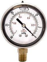 glycerine filled vacuum gauge