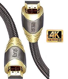 IBRA 1M Luxury Cable de HDMI de Ultra Alta Velocidad Cable de 18Gb/s HDMI 2.0b Soporte 4K@60Hz Fire TV, Ethernet, Retorno de Audio,Video UHD 2160p,HD 1080p,3D, Xbox Playstation PS3 PS4 PC (B00K6KPBWG) | Amazon price tracker / tracking, Amazon price history charts, Amazon price watches, Amazon price drop alerts