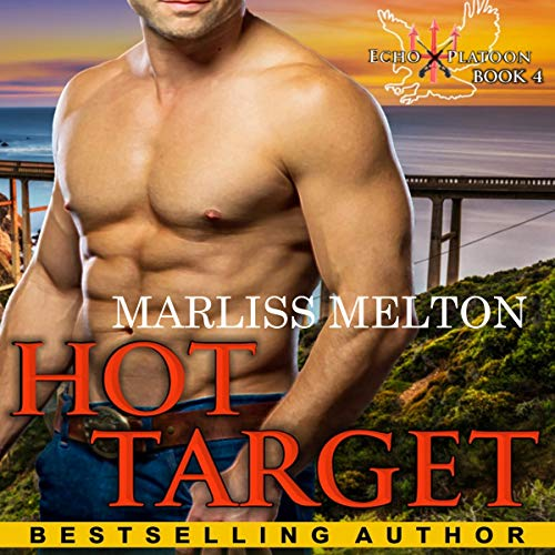 Hot Target audiobook cover art