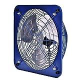 RongWang Extractor de ventilación Industrial Potente de 10 Pulgadas, Extractor de Aire Comercial de Escape axial de Metal para Cocina, Dormitorio
