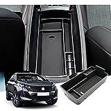 GAFAT Peugeot 3008 5008 GT 2016-2021 - Caja de almacenamiento para coche, organizador para consola central, reposabrazos, accesorio para el interior del coche