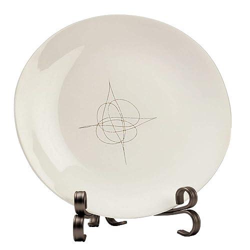 USA Florida Porcelain Plate w// Display Stand American Home States