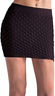 sweater with mini skirt