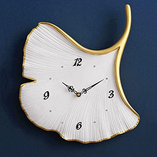 SMEJS Reloj de Pared Grande Moderno, decoración 3D, Sala de Estar, Relojes de Hoja, decoración del hogar, Reloj de Pared de Regalo