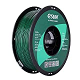 eSUN PLA PRO (PLA+) 3D Printer Filament, Dimensional Accuracy +/- 0.03mm, 1kg Spool, 1.75mm, Pine Green, Pantone 343C