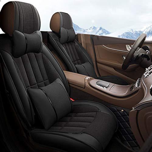 Oud straatautostoelhoezen compatibel met Peugeot Universele stoelhoezen voor de meeste auto's en SUV's Geschikt voor autostoelhoezen met 5 zitplaatsen Auto Interieuraccessoires