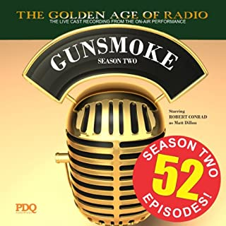 Gunsmoke, Season 2 audiobook cover art