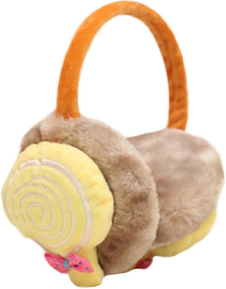 Cute Candy Ear Warmer Earmuffs Ear protection Winter decorations(Khaki)