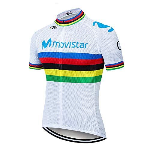 Maglia Ciclismo Estivo Uomo Magliette Ciclismo Maniche Corte Abbigliamento MTB Maglia Ciclismo Estivo Squadre