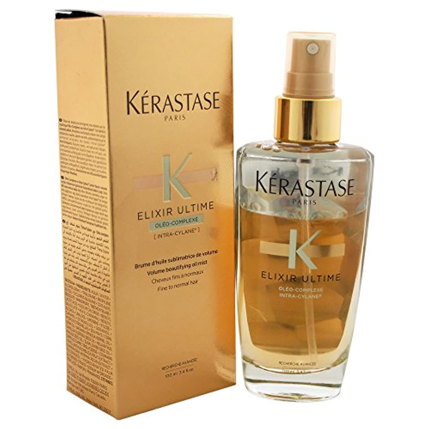 Kerastase Elixir Ultime Oleo-Complexe Volume Beautifying Mist Oil, 3.4 Ounce