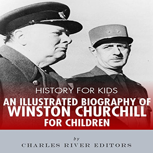Biography Book Covers: History For Kids: An Illustrated Biography Of Winston