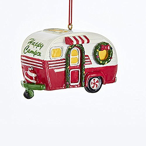 Kurt Adler Happy Camper RV Christmas Ornament