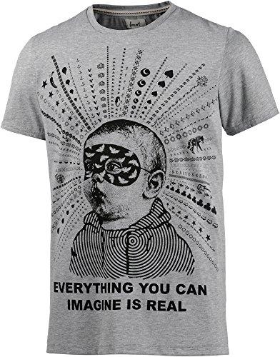 Forvert Gibbs T-Shirt S Gris Clair chiné